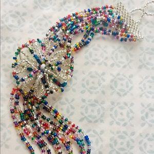 Jewelry - Hand beaded bracelet multicolor